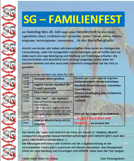 Familienfest 2013