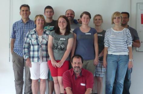 SG-WaDe Erste-Hilfe-Kurs Team 2013-06-15