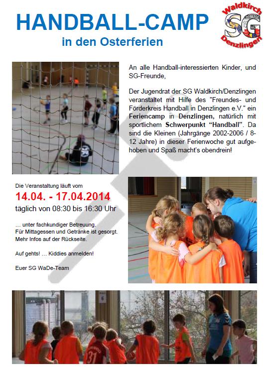 Handball Feriencamp