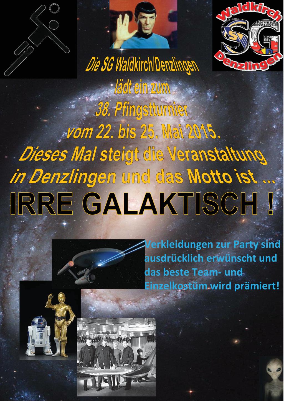 Einladung Pfingstturnier 2015 bei der SG Waldkirch-Denzlingen 1