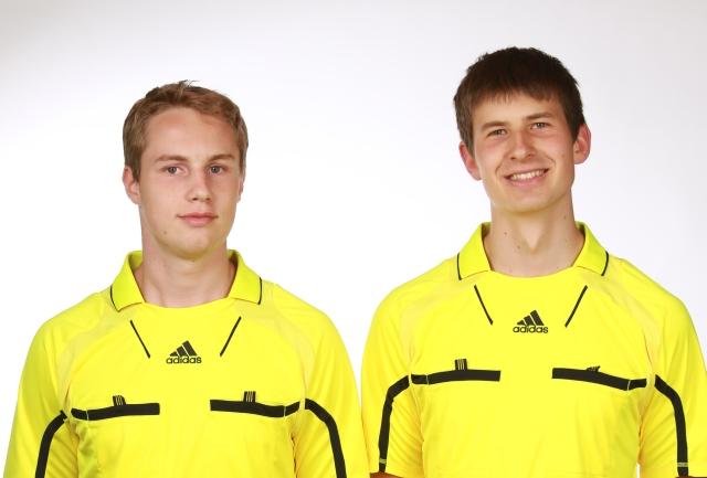 Fabian Höldin und Henrik Eith
