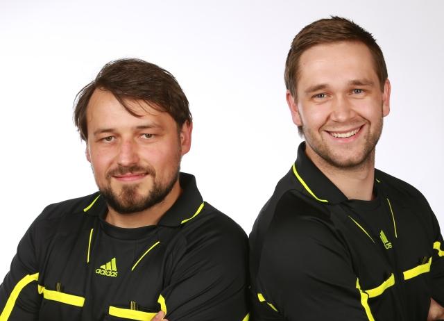 Jürgen Meyndt und Fabian Strübin (SbHV A-Kader)