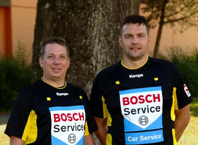 Thorsten Meike und Stefan Plinz (DHB Kader)